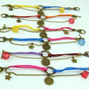 DIY Charm Bracelet,12 Constellation..